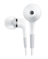 In-ear Apple earbuds